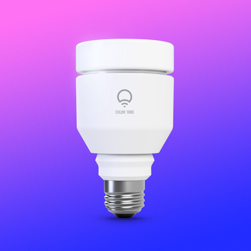 LIFX Color 1000 LED Smart Bulb multi-colour
