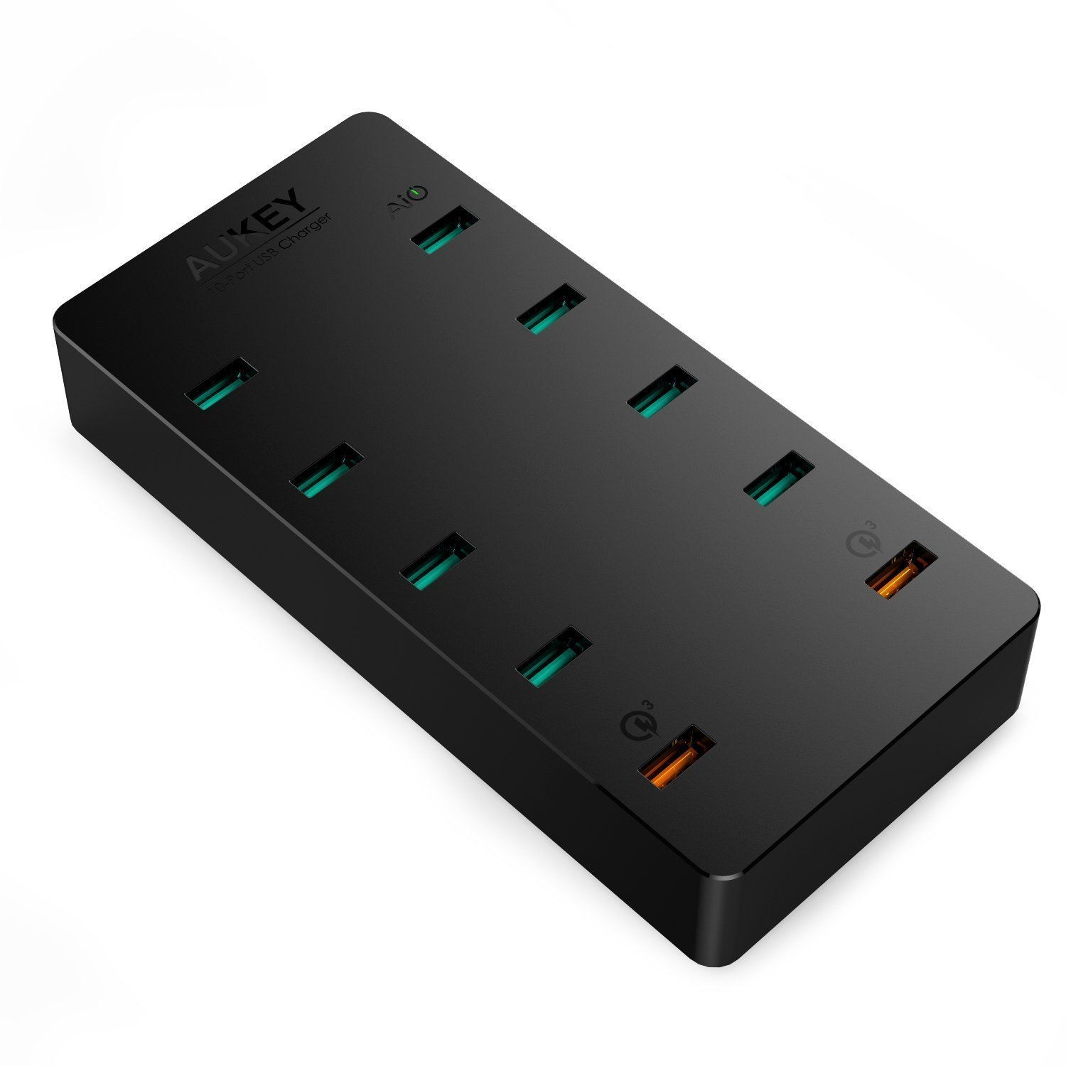 Aukey Quick Charge 3.0 10 Port 70W USB charger